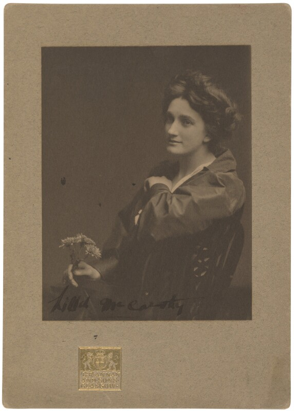 Lillah McCarthy, by James Craig Annan, 1900s - NPG P1040 - © National Portrait Gallery, London