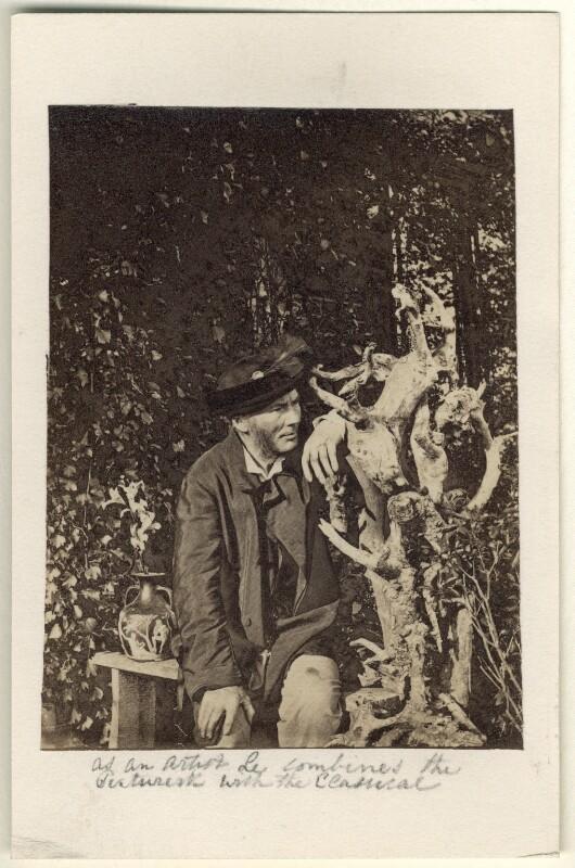 Richard Cockle Lucas, by Richard Cockle Lucas, circa 1858 - NPG Ax23408 - © National Portrait Gallery, London