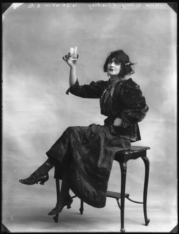 Betty Linley, by Bassano Ltd, 1914 - NPG x103060 - © National Portrait Gallery, London