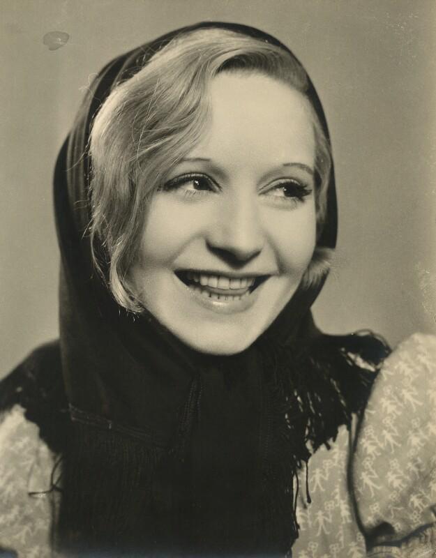 Elisabeth Bergner in 'Escape Me Never', by Fred Daniels, 1935 - NPG x32918 - © Estate of Fred Daniels / National Portrait Gallery, London