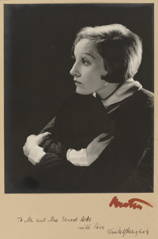 Elisabeth Bergner, by Cecil Beaton, 1934 - NPG P1041 - © Cecil Beaton Studio Archive, Sotheby's London