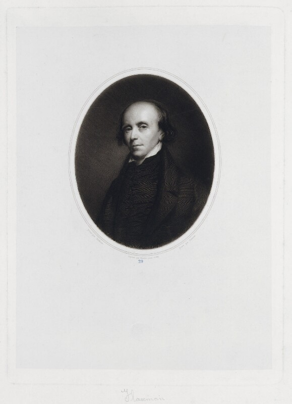 John Flaxman, by Jacques Etienne Pannier, printed by  Chardon, after  John Jackson, circa 1840-1860 - NPG D19304 - © National Portrait Gallery, London