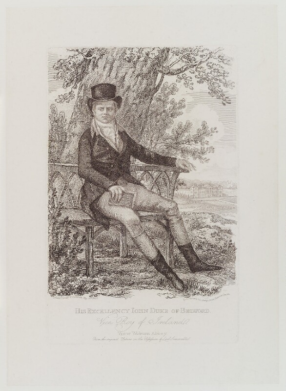 John Russell, 6th Duke of Bedford, by and published by George Garrard, published 31 May 1806 - NPG D19382 - © National Portrait Gallery, London