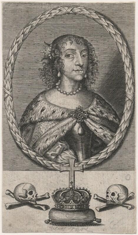 Henrietta Maria, after Unknown artist, mid 17th century - NPG D16471 - © National Portrait Gallery, London