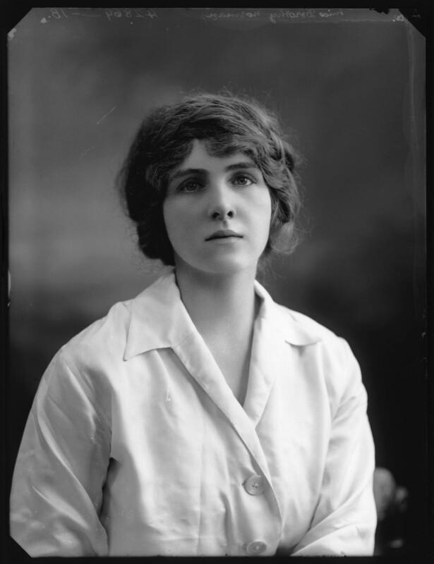 Dorothy Norman, by Bassano Ltd, 1914 - NPG x103249 - © National Portrait Gallery, London