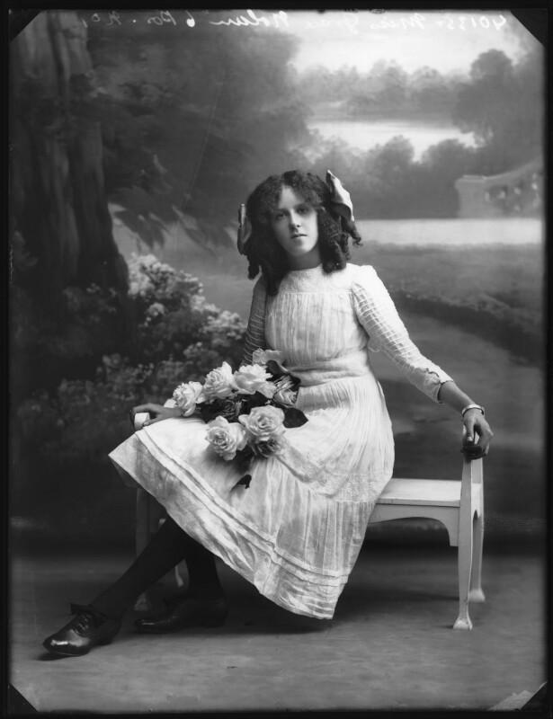 Grace Nolan, by Bassano Ltd, 29 September 1910 - NPG x103279 - © National Portrait Gallery, London