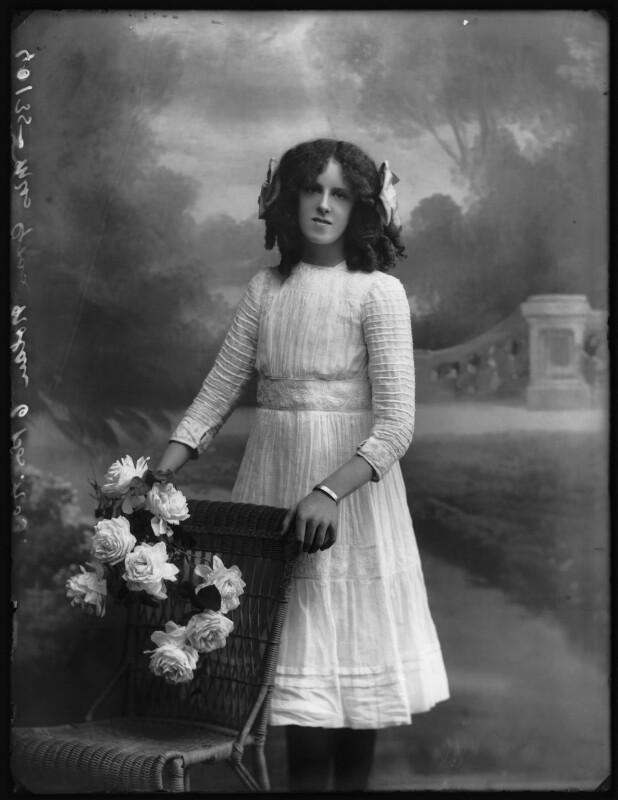 Grace Nolan, by Bassano Ltd, 29 September 1910 - NPG x103281 - © National Portrait Gallery, London