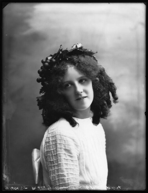 Grace Nolan, by Bassano Ltd, 29 September 1910 - NPG x103282 - © National Portrait Gallery, London