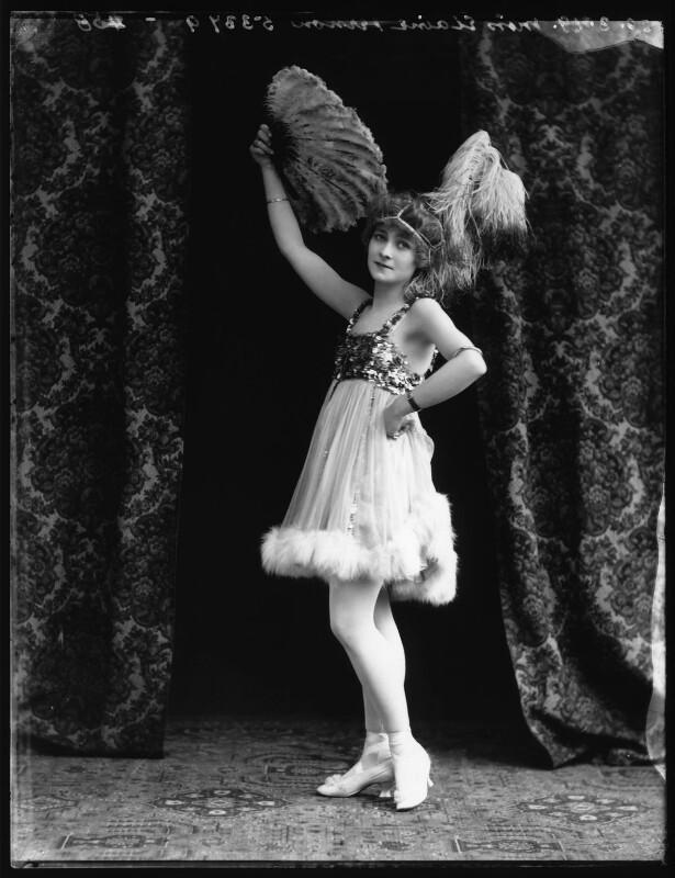 Elaine Vernon, by Bassano Ltd, 20 March 1919 - NPG x103227 - © National Portrait Gallery, London