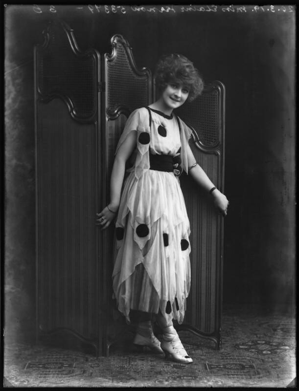 Elaine Vernon, by Bassano Ltd, 20 March 1919 - NPG x103226 - © National Portrait Gallery, London