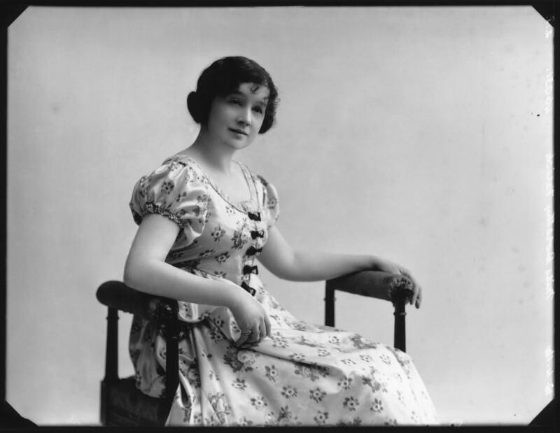 Dorothy Varick, by Bassano Ltd, 12 April 1916 - NPG x103221 - © National Portrait Gallery, London