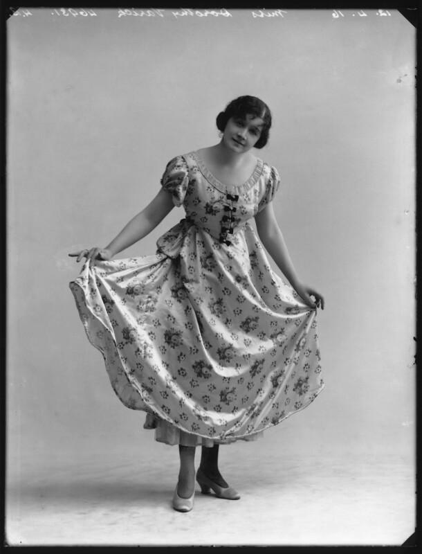 Dorothy Varick, by Bassano Ltd, 12 April 1916 - NPG x103222 - © National Portrait Gallery, London