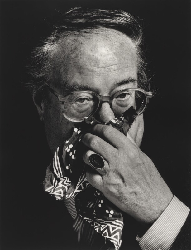 John Mortimer, by Mark Tillie, 1989 - NPG x35173 - © Mark Tillie