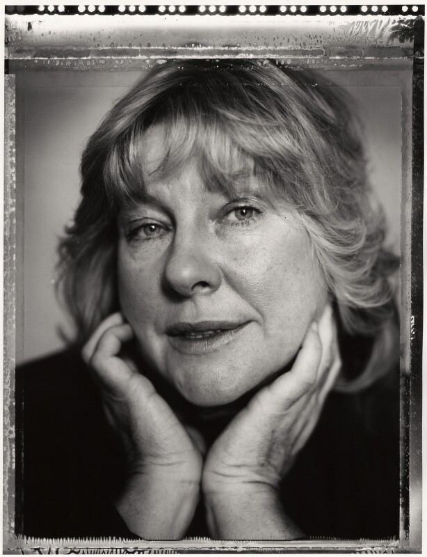 Fay Weldon, by Mark Tillie, 1988 - NPG x35174 - © Mark Tillie