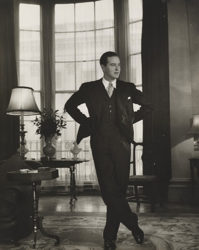 Terence Rattigan, by John Gay, published June 1949 - NPG x47300 - © National Portrait Gallery, London
