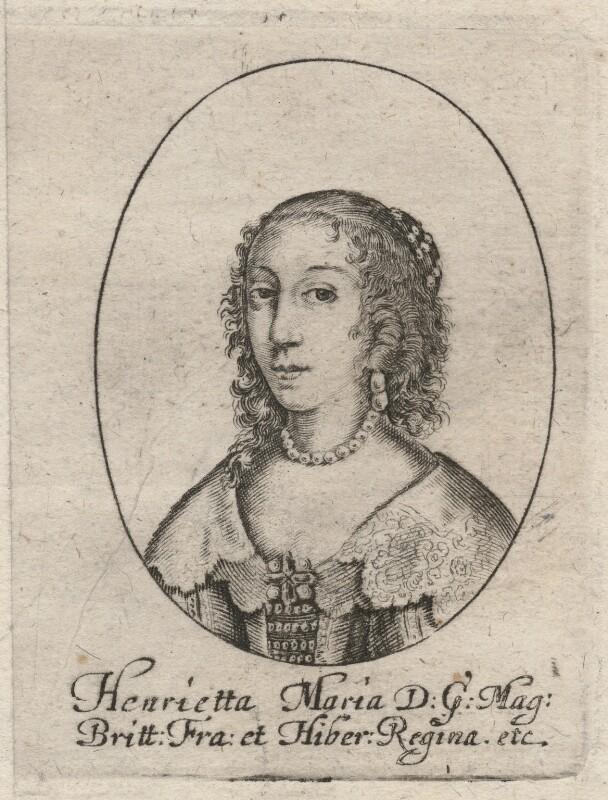 Henrietta Maria, after Unknown artist, 1630s? - NPG D16477 - © National Portrait Gallery, London
