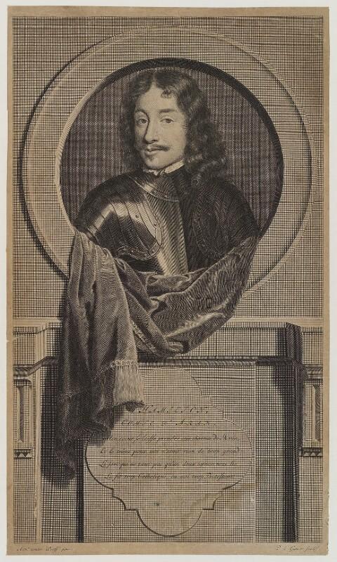 James Hamilton, 3rd Earl of Arran, by Pieter Stevens van Gunst, after  Adriaen van der Werff, 1707 - NPG D19436 - © National Portrait Gallery, London