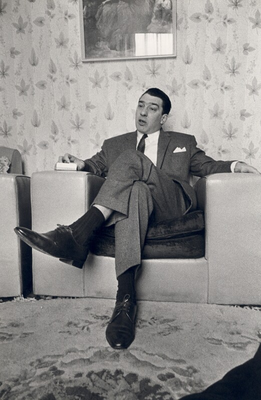 Ronnie Kray, by Unknown photographer, circa 1964 - NPG x126473 - © reserved; collection National Portrait Gallery, London