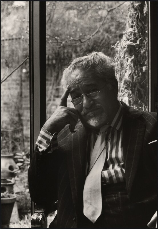 Felix Aprahamian, by Pete Wicker, 1970s-1980s - NPG x47289 - © Pete Wicker