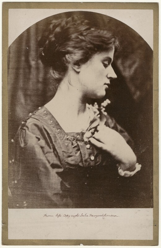 Marie Stillman (née Spartali), by Julia Margaret Cameron, 1868 - NPG x18051 - © National Portrait Gallery, London