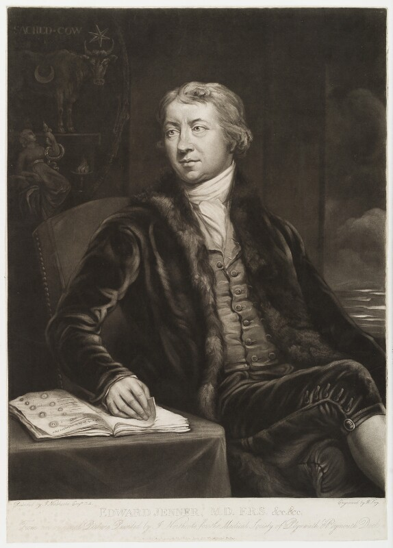 Edward Jenner, by William Say, published by  Thomas Palser, after  James Northcote, published 20 August 1804 - NPG D19467 - © National Portrait Gallery, London