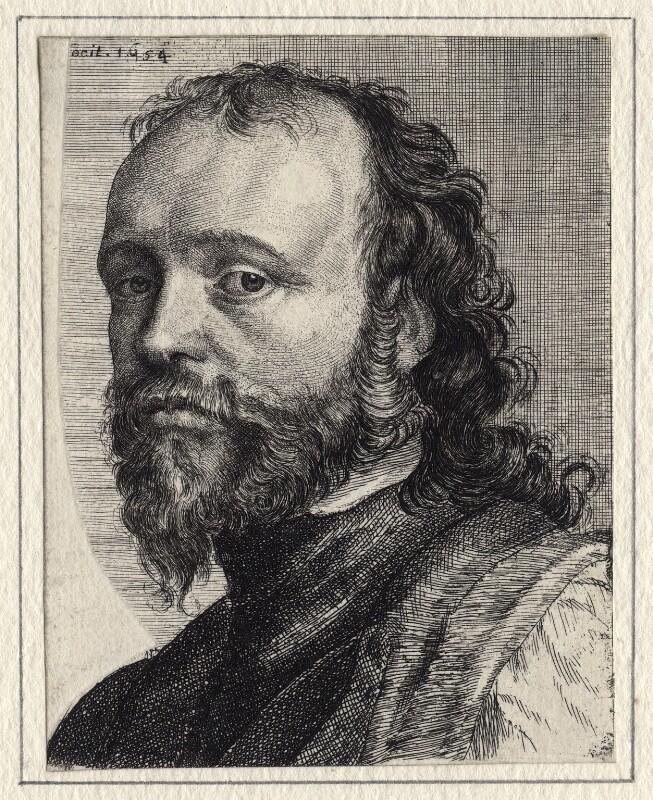 Sir Kenelm Digby, by Richard Gaywood, after  Sir Anthony van Dyck, 1654 - NPG D16450 - © National Portrait Gallery, London