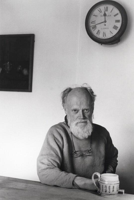 Quentin Bell, by Tara Heinemann, 1981 - NPG x22171 - © Tara Heinemann