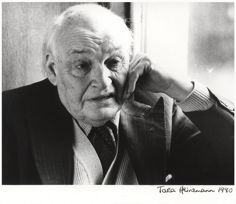 Sir Arthur Wynne Morgan Bryant, by Tara Heinemann, February 1979 - NPG x12833 - © Tara Heinemann