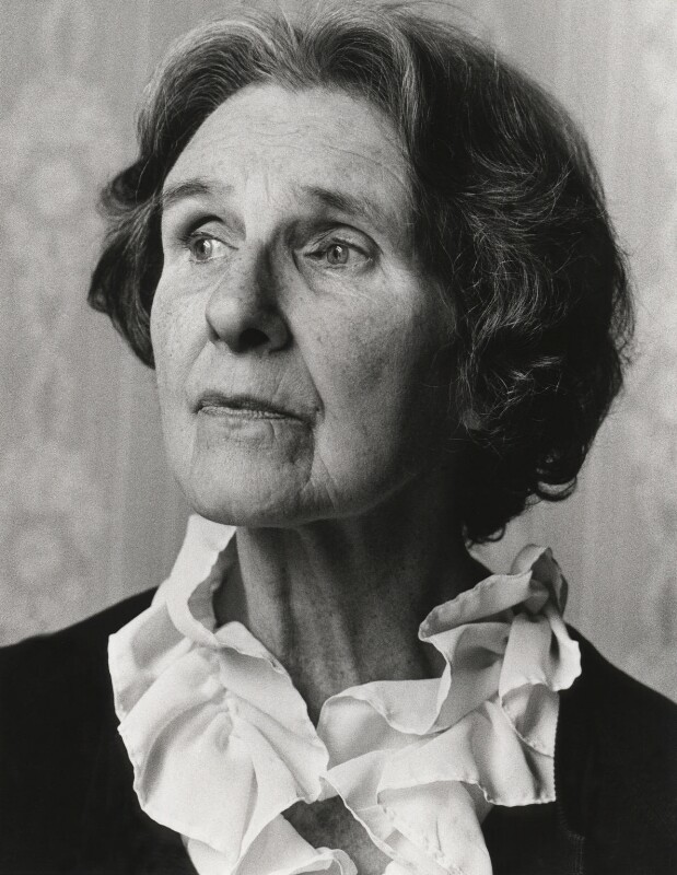 Stella Dorothea Gibbons (Mrs A.B. Webb), by Tara Heinemann, April 1980 - NPG x13755 - © Tara Heinemann