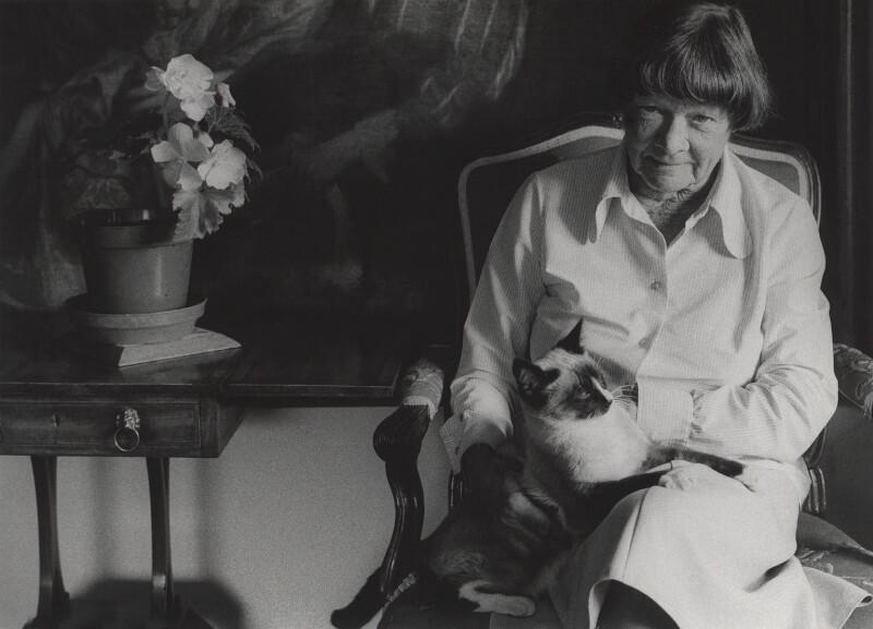 Elspeth Josceline Huxley (née Grant), by Tara Heinemann, 1981 - NPG x30988 - © Tara Heinemann