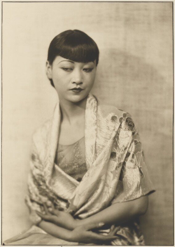 Anna May Wong, by Dorothy Wilding, 1929 - NPG x26341 - © William Hustler and Georgina Hustler / National Portrait Gallery, London