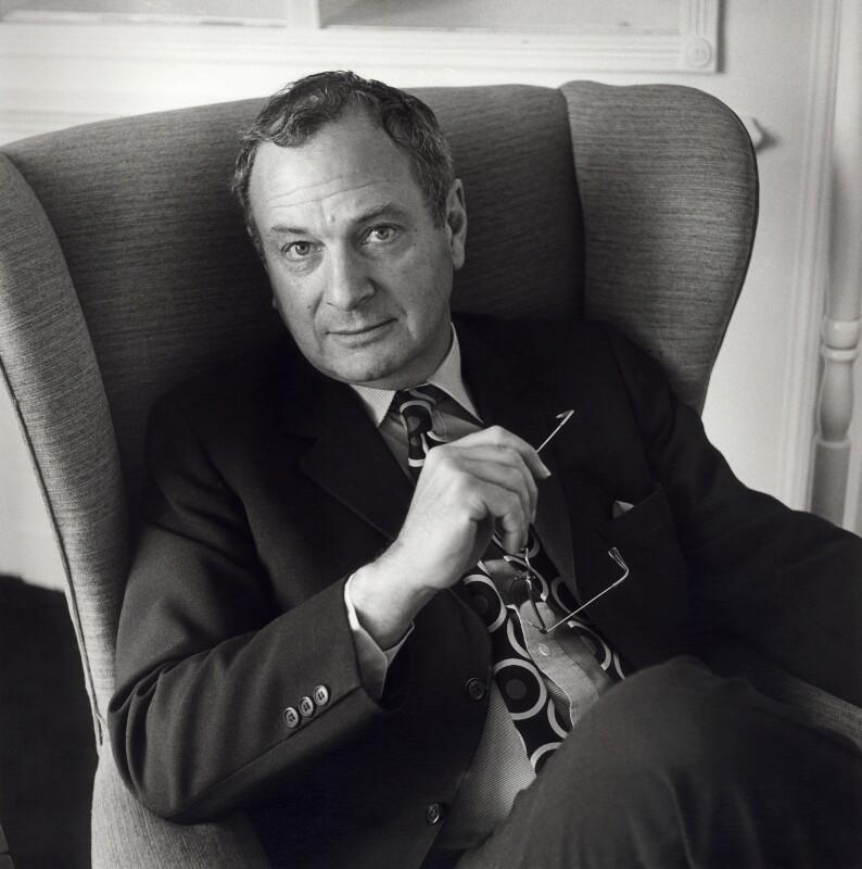 John Morris Roberts, by Deborah Elliott, Autumn 1985 - NPG x25233 - © Deborah Elliott