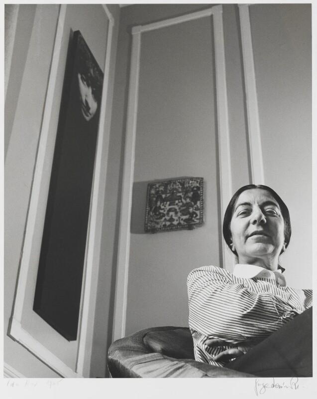 Ida Kar, by Jorge ('J.S.') Lewinski, July 1965 - NPG P1050 - © National Portrait Gallery, London