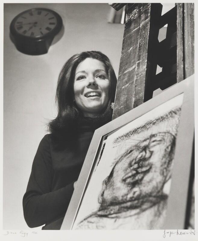 Diana Rigg, by Jorge ('J.S.') Lewinski, September 1966 - NPG P1057 - © National Portrait Gallery, London