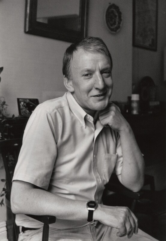 Sir Richard Rodney Bennett, by George Newson, 27 July 1984 - NPG x33543 - © George Newson / Lebrecht Music & Arts