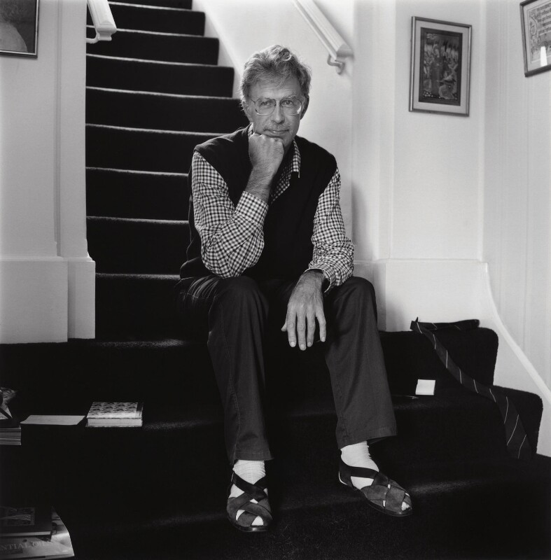 Jonathan Dean Harvey, by George Newson, 15 August 1989 - NPG x35735 - © George Newson / Lebrecht Music & Arts