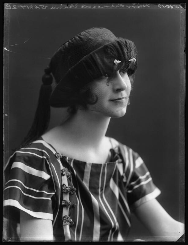 Carmen Viana, by Bassano Ltd, 15 October 1919 - NPG x103587 - © National Portrait Gallery, London