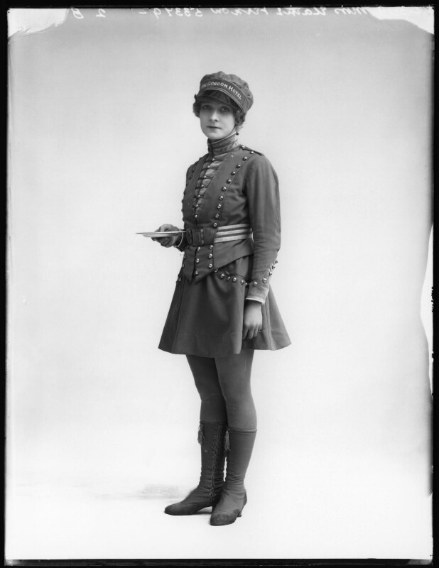 Elaine Vernon, by Bassano Ltd, 20 March 1919 - NPG x103590 - © National Portrait Gallery, London