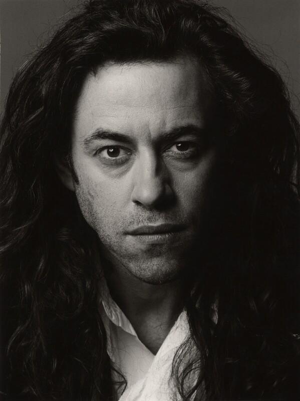Bob Geldof, by Trevor Leighton, 1990 - NPG x34813 - © Trevor Leighton / National Portrait Gallery, London
