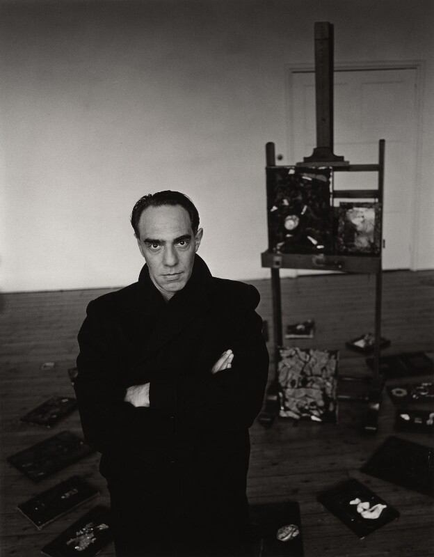 Derek Jarman, by Trevor Leighton, 1990 - NPG x35318 - © Trevor Leighton / National Portrait Gallery, London