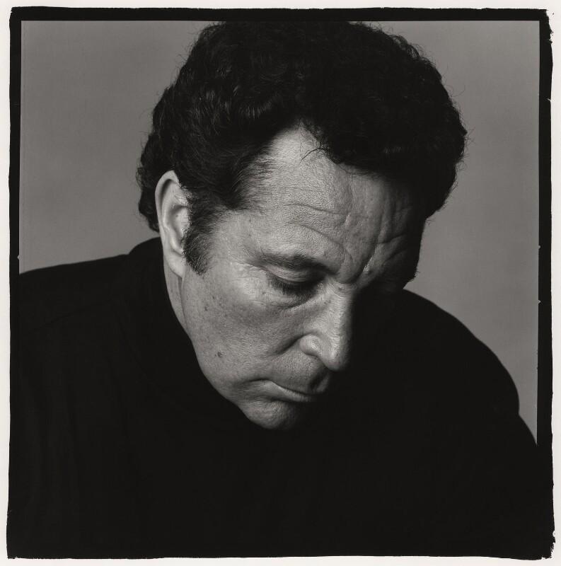Tom Jones, by Trevor Leighton, 1989 - NPG x34000 - © Trevor Leighton / National Portrait Gallery, London