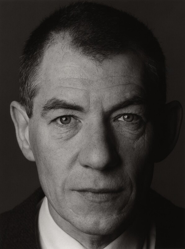 Ian McKellen, by Trevor Leighton, 7 March 1990 - NPG x35302 - © Trevor Leighton / National Portrait Gallery, London