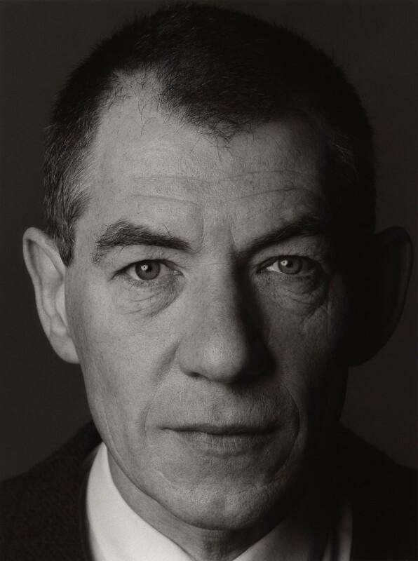 Ian McKellen, by Trevor Leighton, 7 March 1990 - NPG x35302 - © Trevor Leighton / National Portrait Gallery, London