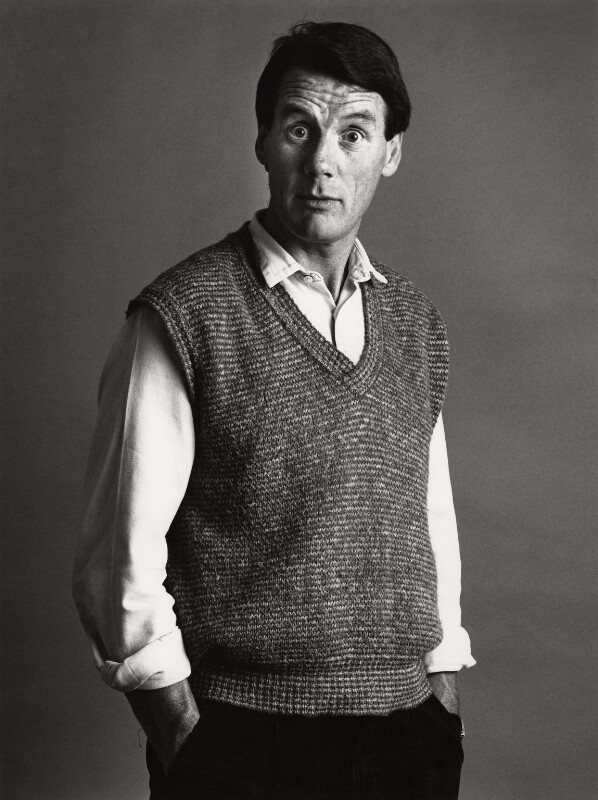 Michael Palin, by Trevor Leighton, 1984 - NPG x29713 - © Trevor Leighton / National Portrait Gallery, London