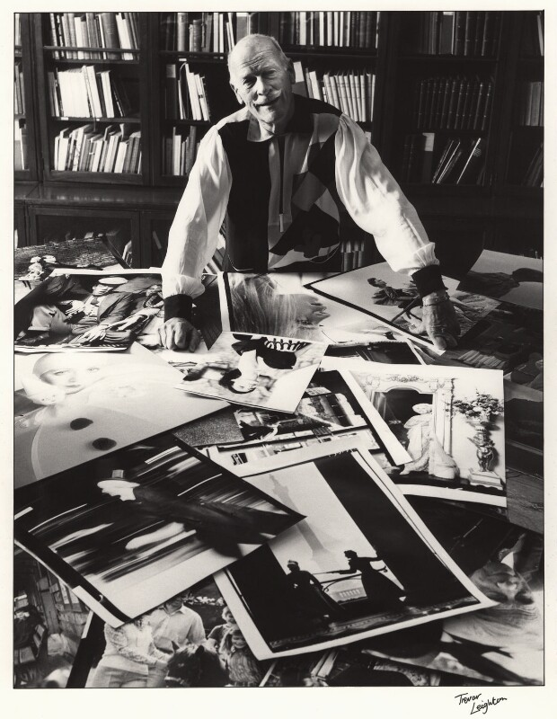 Norman Parkinson, by Trevor Leighton, 1981 - NPG x26096 - © Trevor Leighton / National Portrait Gallery, London