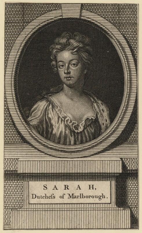 Sarah Churchill (née Jenyns (Jennings)), Duchess of Marlborough, after Sir Godfrey Kneller, Bt, 18th century - NPG D16548 - © National Portrait Gallery, London