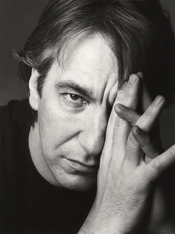 Alan Rickman, by Trevor Leighton, 24 January 1992 - NPG x46612 - © Trevor Leighton / National Portrait Gallery, London