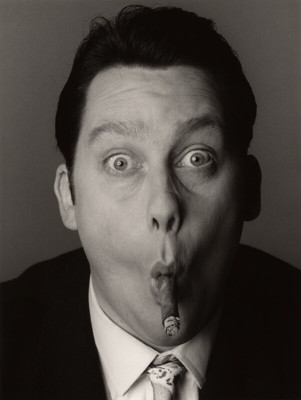 Vic Reeves, by Trevor Leighton, 28 March 1990 - NPG x35310 - © Trevor Leighton / National Portrait Gallery, London