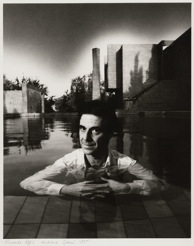 Ricardo Bofill, by Dudley Reed, 1985 - NPG x32175 - © Dudley Reed / National Portrait Gallery, London