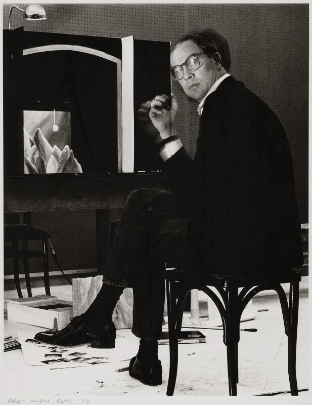 Robert Wilson, by Dudley Reed, 1984 - NPG x32176 - © Dudley Reed / National Portrait Gallery, London